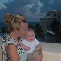 Bébé 1 3 mois et demi dans le sud à la Riviera maya #freethebaby