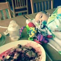 Déjeuner au Cora en tête à tête!!😍 #Freethebaby