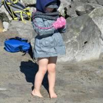 il fait froid a charlevoix mais on profite du soleil un peux!