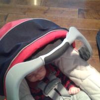 Au chic restaurant Le Samuel avec les deux enfants! #freethebaby