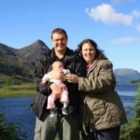 Fin de semaine dans les Highlands Écossaises, Clémentine 2 mois - Greenock, Écosse
