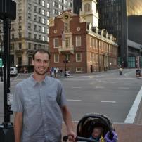 Fiston de 4 mois en vacances à Boston #freethebaby