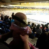 Au stade olympique pour le match de l'impact!!!
