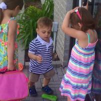 Mes bébés prêts pour le boulot à maman!! Oui oui ils sont avec moi sur place tout les samedis ainsi que plusieurs jours dans la semaine!