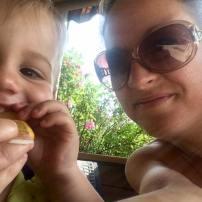 Un petit souper terrasse en tête-à-tête avec mon bébé! St-hub Saint-Sauveur