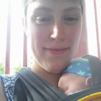 Bébé de 3 semaines et moi, on est en week-end de fille à l'hôtel Germain à Baie-St-Paul!!