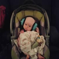 Cinéma avec les enfants et même bb Charlotte de trois mois sa la été super j'ai même pu allaiter durent le films avec une doudou elle a dormi et regarder un peu les couleur de l'écran!